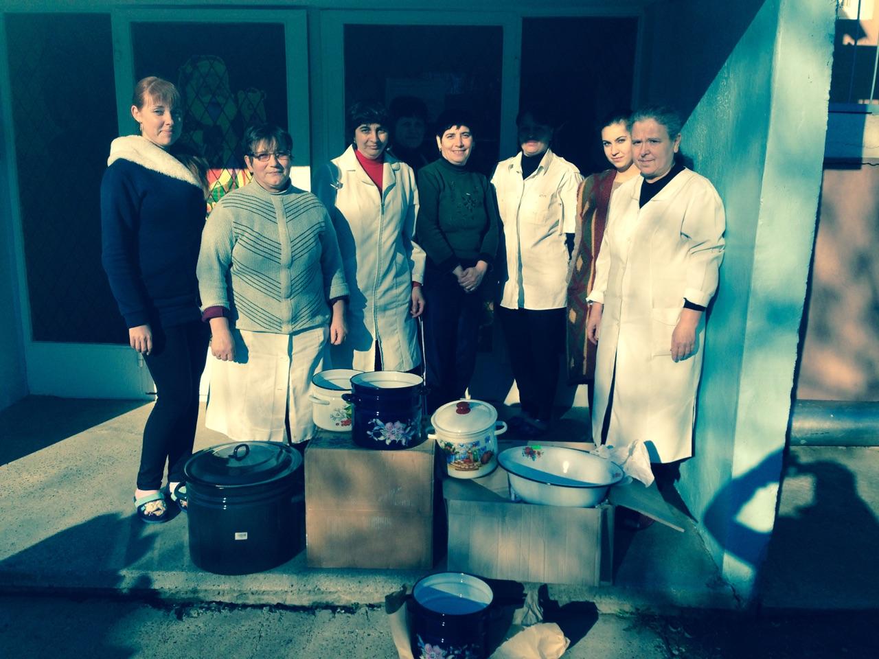 Детсаду в селе Новосельское Ренийского района остро не хватало кухонной утвари