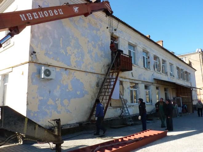 Две лестницы Измаильскому Терцентру подарил фонд Урбанского
