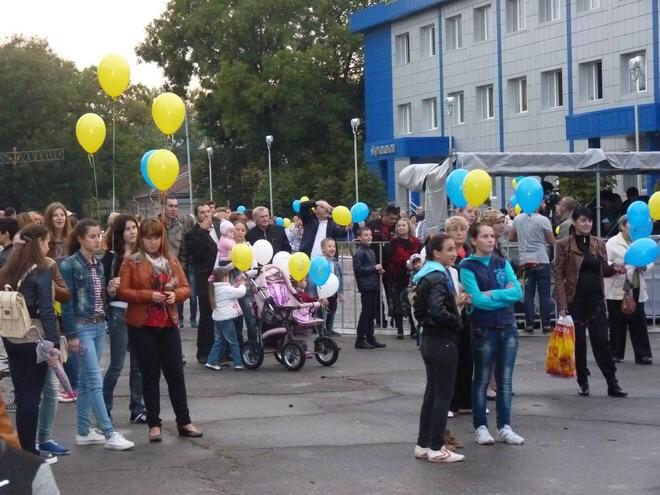 Жители Рени отметили День города