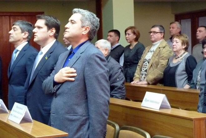 В Измаил на сессию горсовета приехали народный депутат Александр Урбанский и глава облсовета Анатолий Урбанский