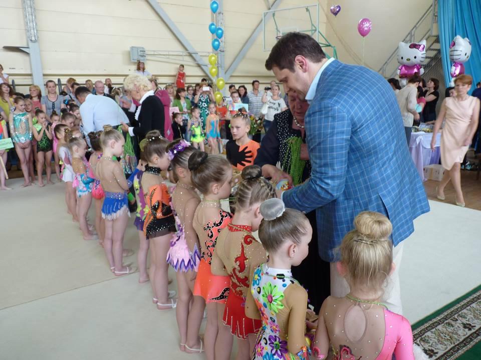 Международный турнир по художественной гимнастике собрал в Измаиле 270 юных граций!
