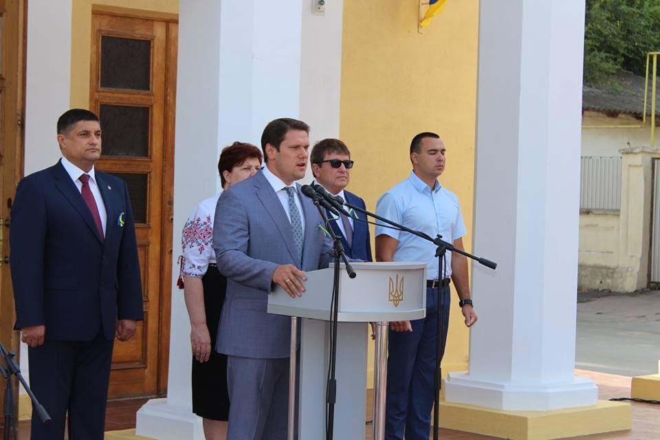 День Независимости Александр Урбанский провел с избирателями