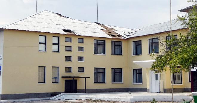 Село Плавни в День Независимости боролось с последствиями стихии