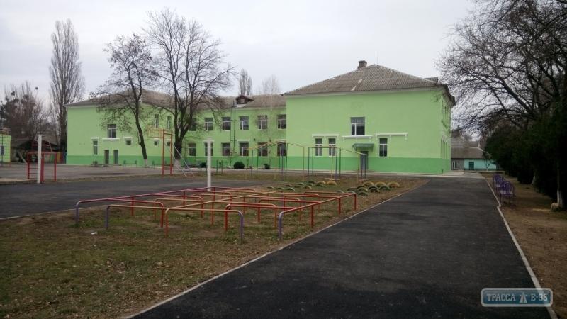 Капремонт школы завершился в Рени на юге Одесщины