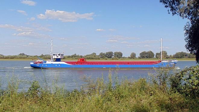 судно, река Дунай, ріка Дунай, баржа