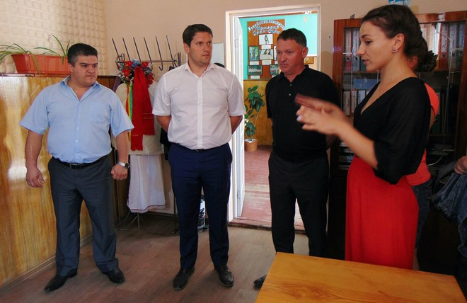 В Ренийском ДК при поддержке БФ Урбанского обустроили место для вдохновения