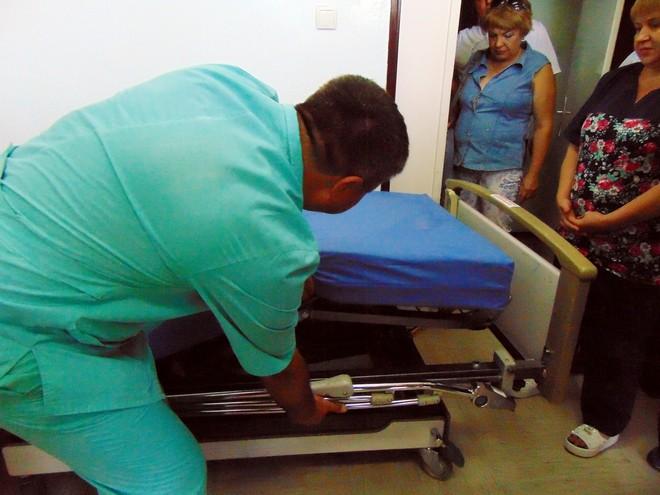 Благотворительный фонд Урбанского закупил для Ренийской ЦРБ 35 функциональных кроватей