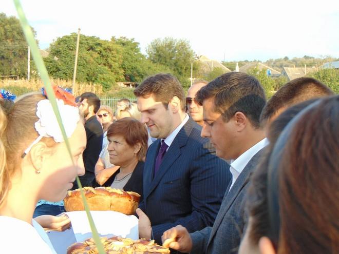 Село Табаки Болградского района праздновало свое 205-летие с нардепом Александром Урбанским