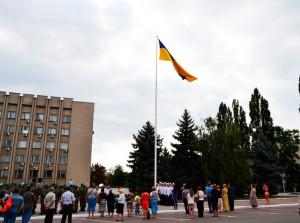 День государственного флага Украины в Измаиле